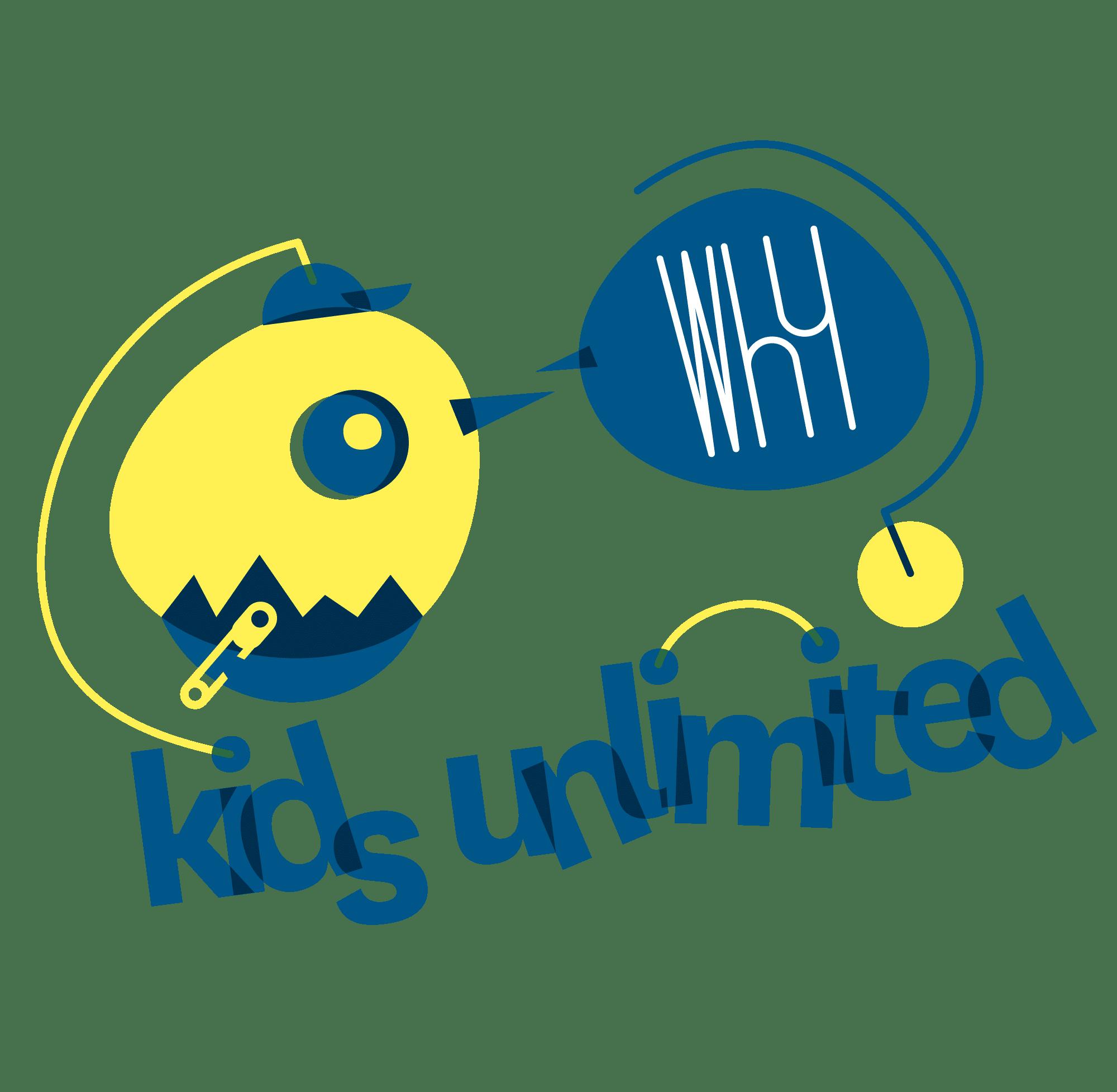 Logo complet de la crèche Kids unlimited