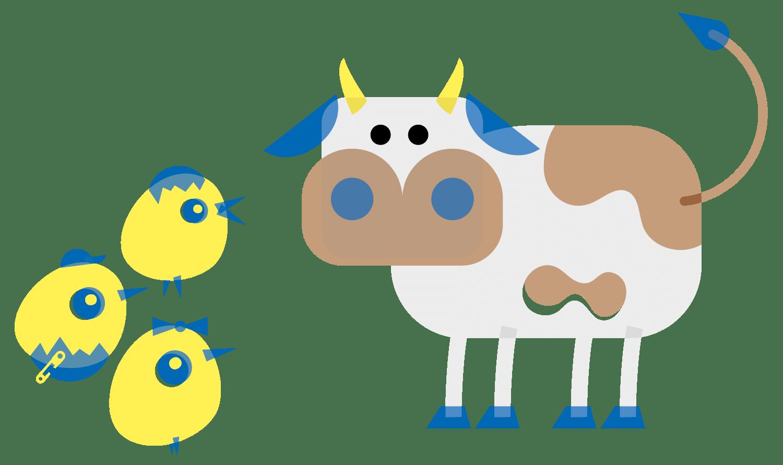 Les sorties en extérieure et la rencontre avec les animaux à la crèche de Commugny à Terre Sainte