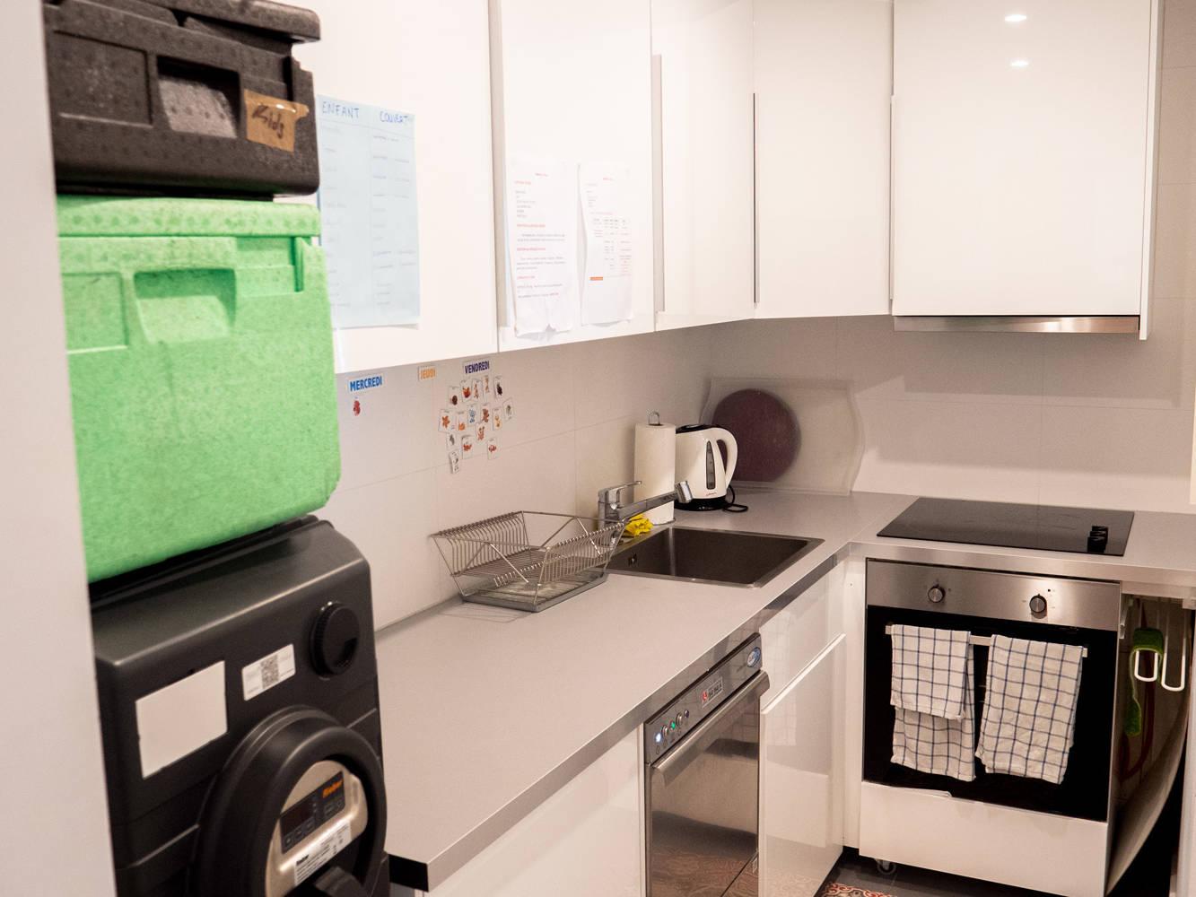 Photo de la cuisine la crèche Kids unlimited à Commugny