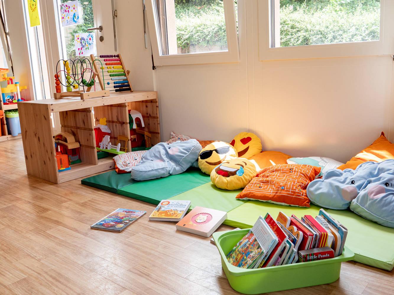 Photo des jeux la crèche Kids unlimited à Commugny à Terre Sainte